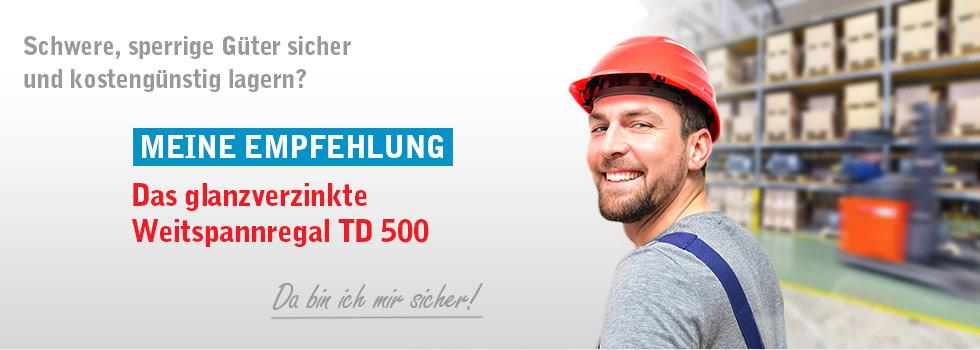 TIXIT ONLINE SHOP - Weitspannregal TD 500