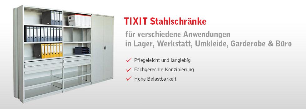 TIXIT ONLINE SHOP - Stahlschränke
